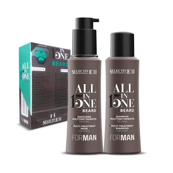 Selective Professional All in One Beard – Kit για Γένια