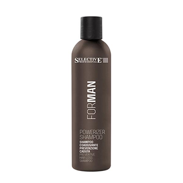 Selective For Man Powerizer Shampoo Τριχόπτωσης   updo.gr (Αντιπροσωπεία Selective Ελλάδος/Κύπρου)