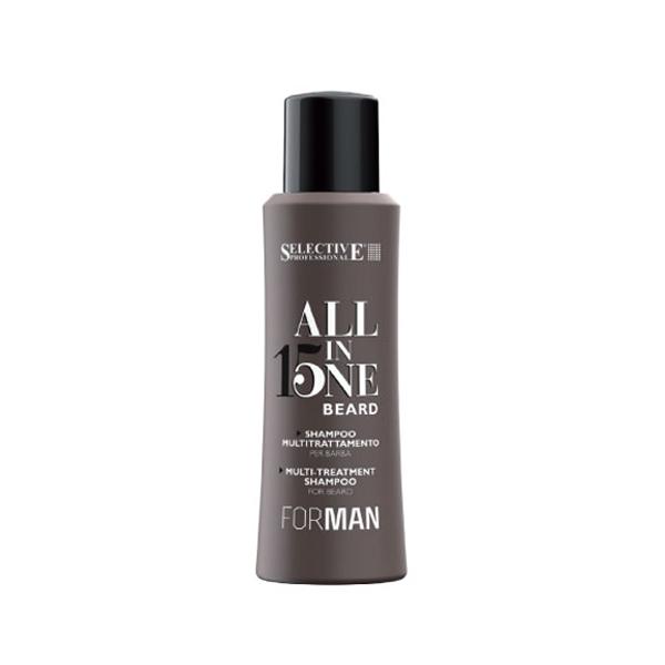 Selective All in One Beard Shampoo | updo.gr (Αντιπροσωπεία Selective Ελλάδος/Κύπρου)