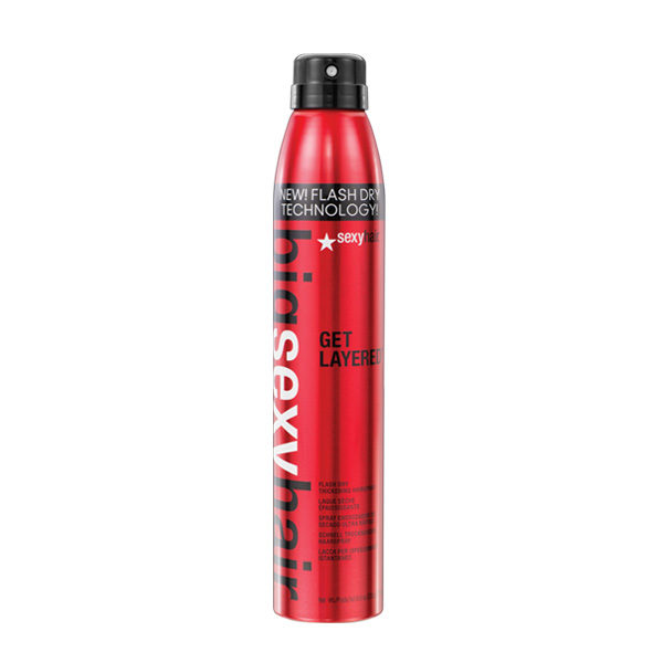 Sexy Hair Get Layered Flash Dry Thickening Hairspray 275ml