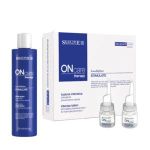 Selective Professional Stimulate Intense Lotion 8/φ + Stimulate Shampoo 250ml