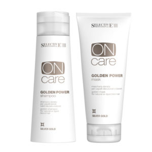 Selective Professional Golden Power Shampoo & Mask