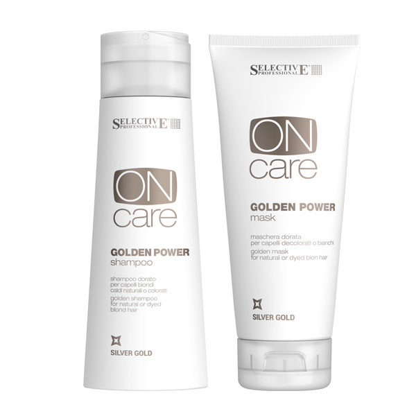 Selective Professional Golden Power Shampoo & Mask