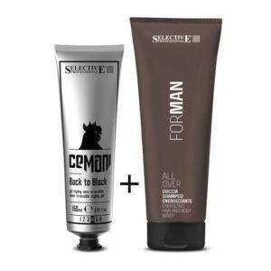 Back to Black Gel 150ml + Δώρο All Over Shampoo & Αφρόλουτρο