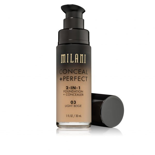 Milani Conceal & Perfect 2 in1 Liquid Make Up (03 Light Beige)