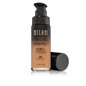 Milani Conceal & Perfect 2 in1 Liquid Make Up (08 Light Tan)