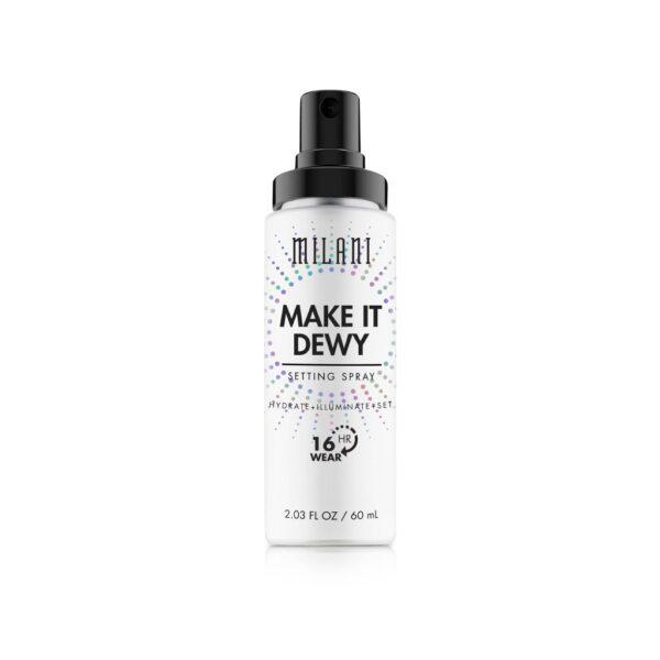 Milani Make It Dewy 3-in-1 Setting Spray Hydrate & Illuminate