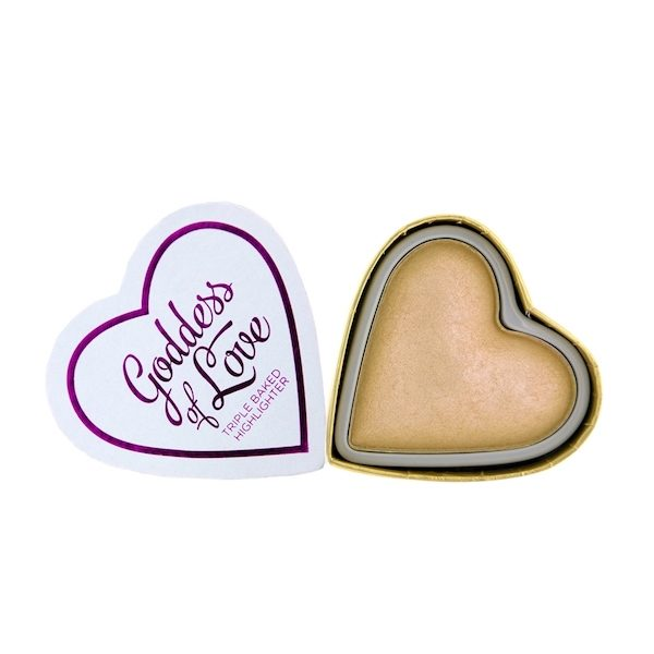 I Heart Blushing Hearts Golden Goddess Highlighter