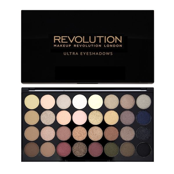 Revolution Ultra 32 Shade Eyeshadow Palette – Flawless