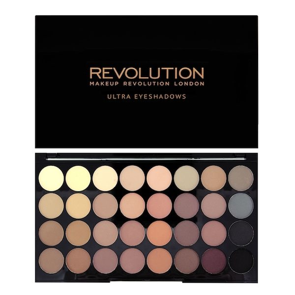 Revolution Ultra 32 Shade Eyeshadow Palette – Flawless Matte
