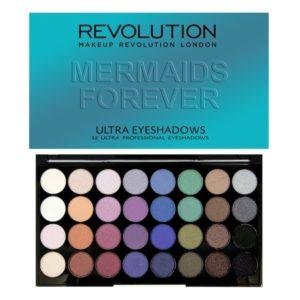 Revolution Ultra 32 Shade Eyeshadow Palette – Mermaids Forever
