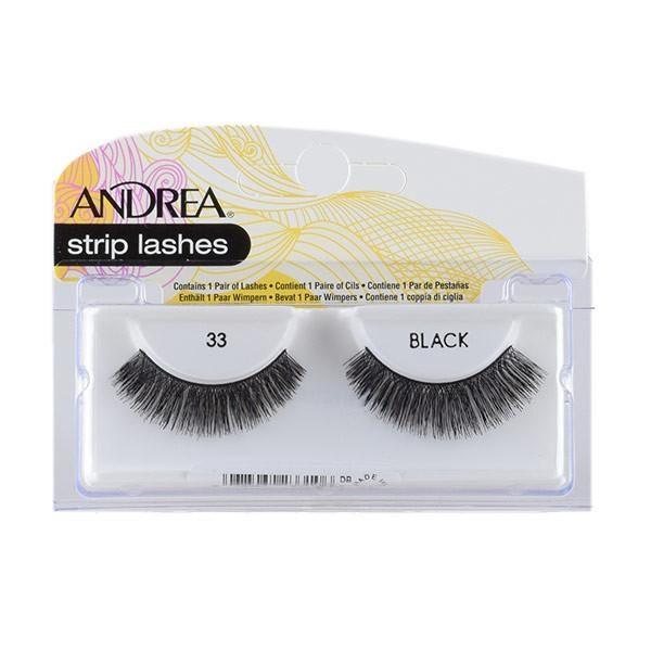 Andrea Strip Lashes – 33 Black