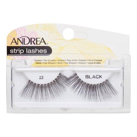 Andrea Strip Lashes – 23 Black
