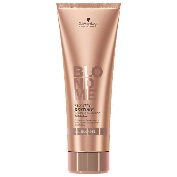 Schwarzkopf Professional Blondme Keratin Restore Bonding Shampoo 250ml (Όλα τα Ξανθά)