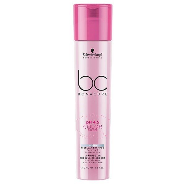Schwarzkopf Professional Bonacure pH 4.5 Color Freeze Silver Micellar Shampoo 250ml