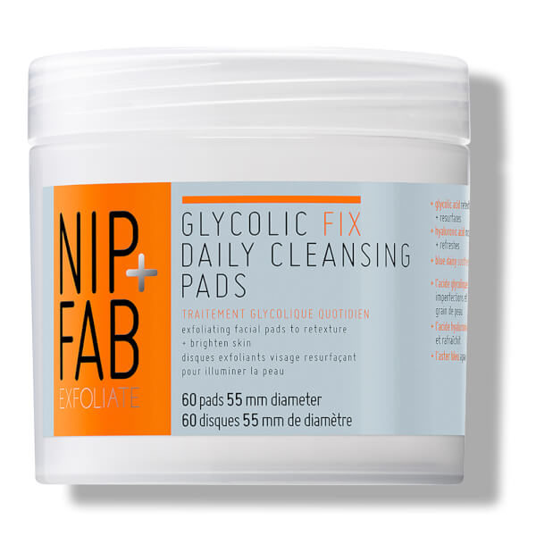 Nip + Fab Glycolic Fix Daily Cleansing Pads 60pcs
