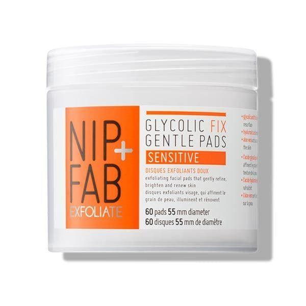 Nip + Fab Glycolic Fix Gentle Pads 60pcs