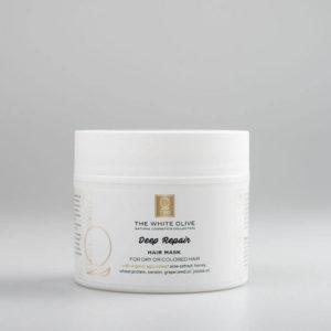 The White Olive Deep Repair Hair Mask 200ml