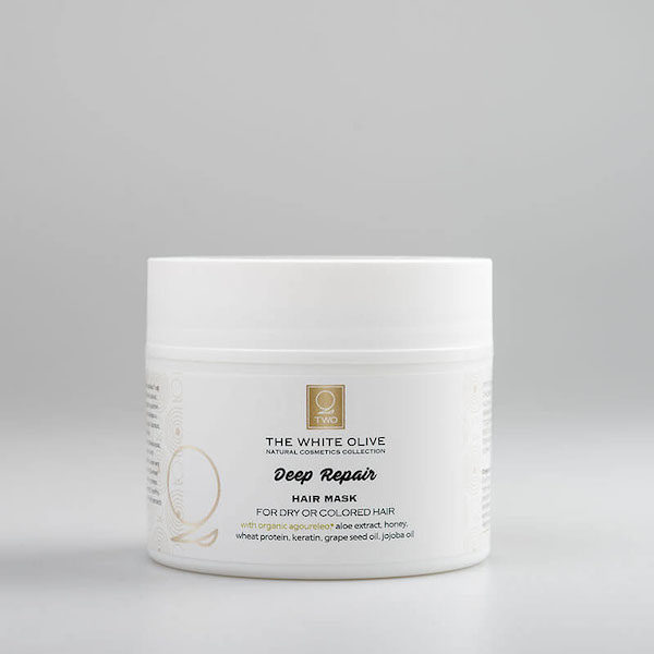 The White Olive Deep Repair Hair Mask 200ml