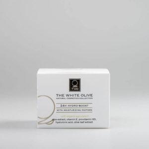 The White Olive 24H Hydro-Boost Face Cream 50ml