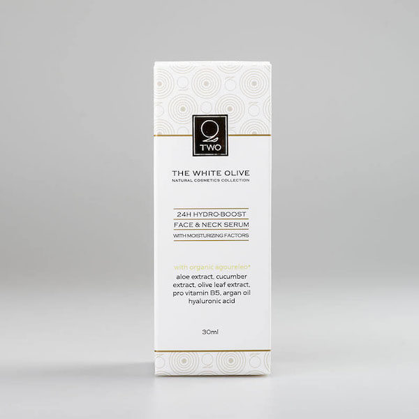 The White Olive 24H Hydro-Boost Face & Neck Serum 30ml
