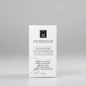 The White Olive Eye & Lip Elixir 15ml