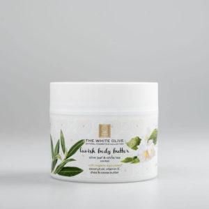 The White Olive Body Butter Olive Leaf & White Tea 200ml