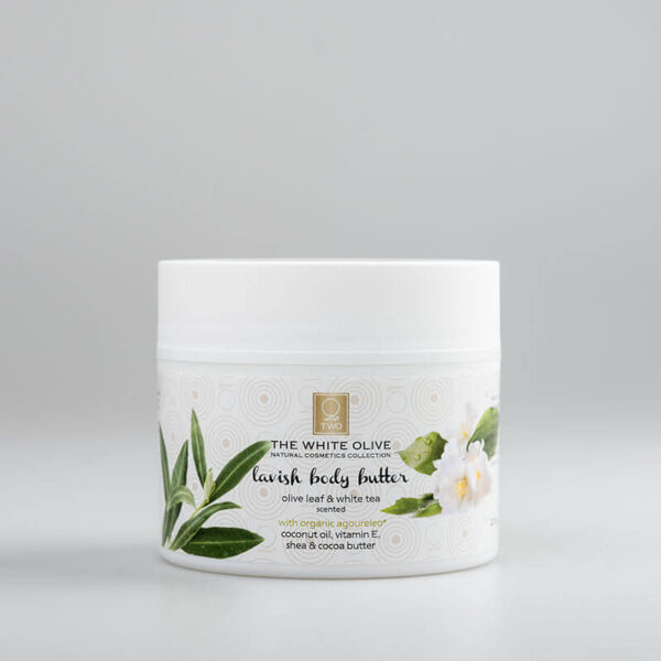 The White Olive Body Butter Olive Leaf & White Tea 200ml