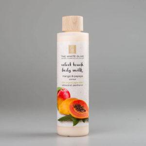 The White Olive Body Milk Mango & Papaya 250ml
