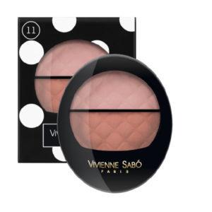 Vivienne Sabo Teinte Delicate Blush Duo 11 Cool Rose/Warm Peach