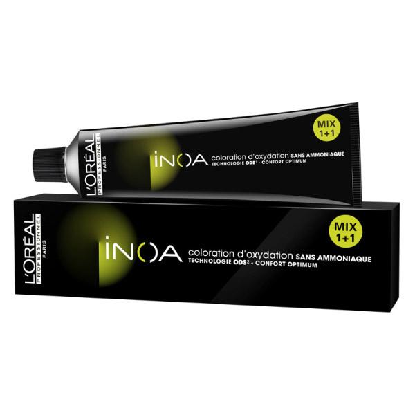 L'Οreal Professionnel Inoa 6.0 Ξανθό Σκούρο για Κάλυψη Λευκών 60ml