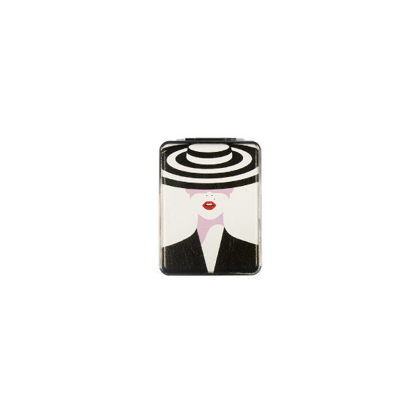 Ro Accessories Καθρεφτάκι τσάντας διπλής όψεως