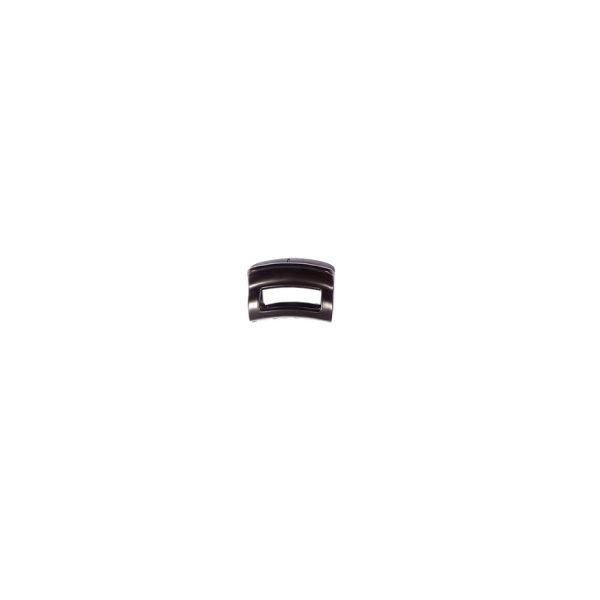 Ro Accessories Κλάμερ 4 cm Μαύρο Ματ