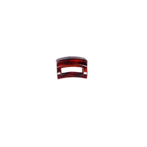 Ro Accessories Κλάμερ 4 cm Καφέ Ματ
