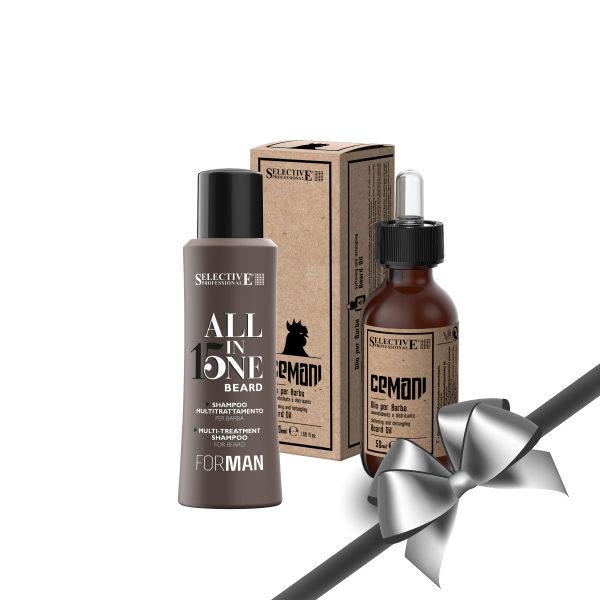 Cemani Beard Gift Set (Beard Shampoo & Oil)