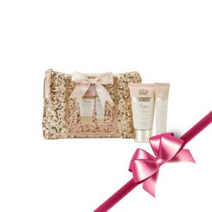 Style & Grace Utopia Glitter Bag Toiletries Gift Set