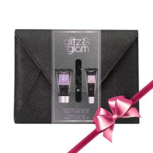 Glitz & Glam Glitter Envelope Gift Set