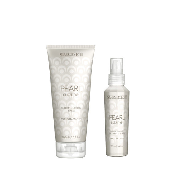 Selective Professional Pearl Sublime Set (Luxury Balm+Light Sensation Spray)