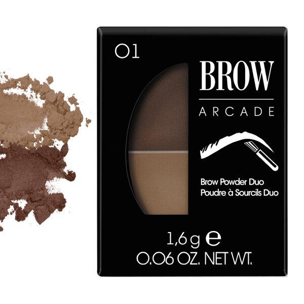 Vivienne Sabo Brow Arcade Eyebrow Shadow Duo No. 01 Blonde
