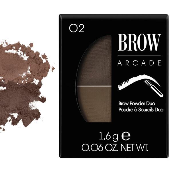 Vivienne Sabo Brow Arcade Eyebrow Shadow Duo No. 02 Light Brown