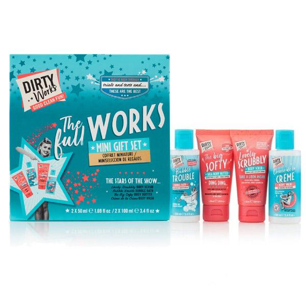 Dirty Works The Full Works (Mini Gift Set) Σετ 4 Mini Συσκευασιών