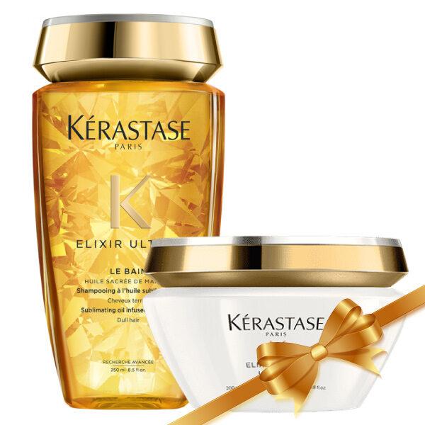 Kérastase Elixir Ultime Σετ (Σαμπουάν 250ml & Μάσκα 200ml)