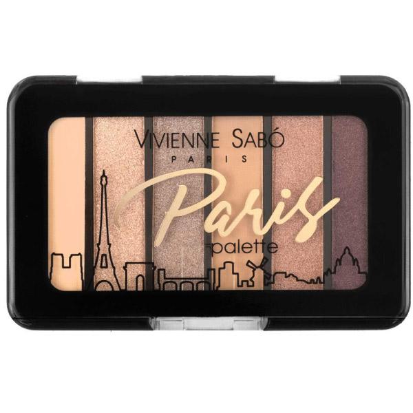 Vivienne Sabo Eyeshadow Mini Palette Paris 03 (6 shades)