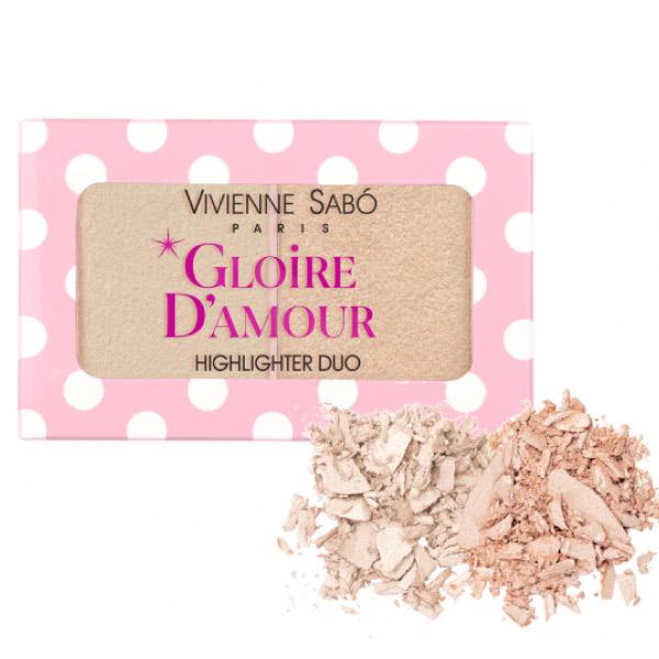 Vivienne Sabo Highlighter Mini Palette Gloire D'Amour 01