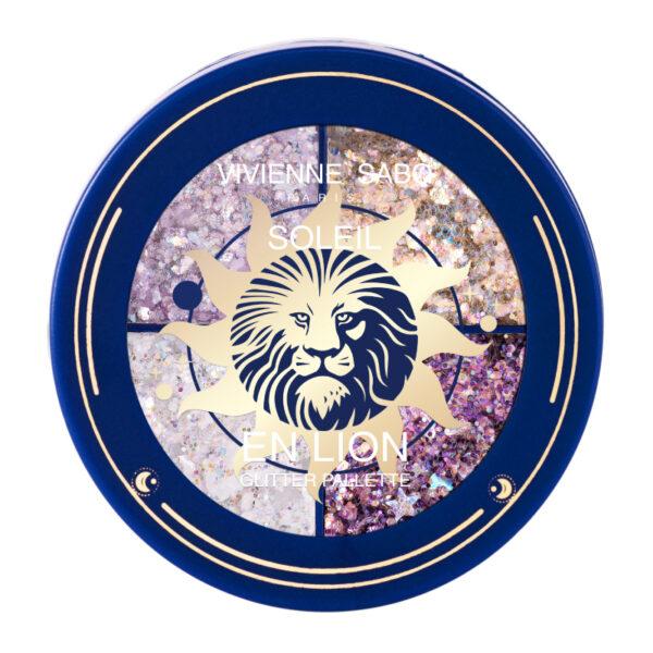Vivienne Sabo Glitter Palette Soleil en Lion 01