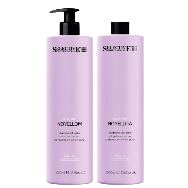 Selective Professional No Yellow Shampoo & Conditioner 1000ml