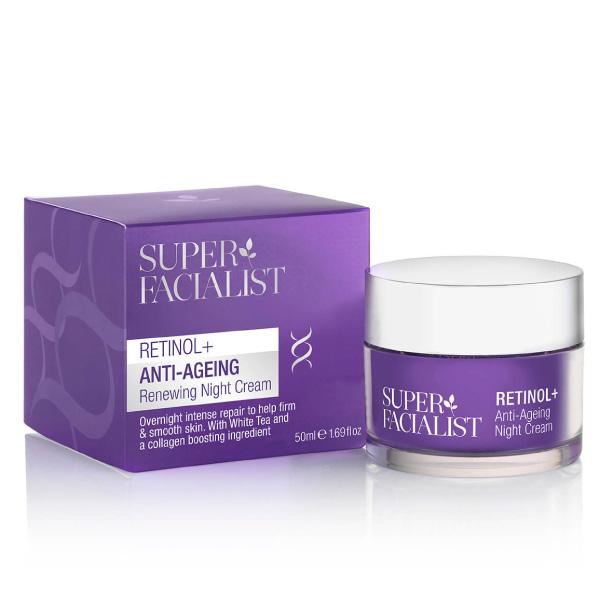 Super Facialist Retinol Anti-Ageing Night Cream 50ml
