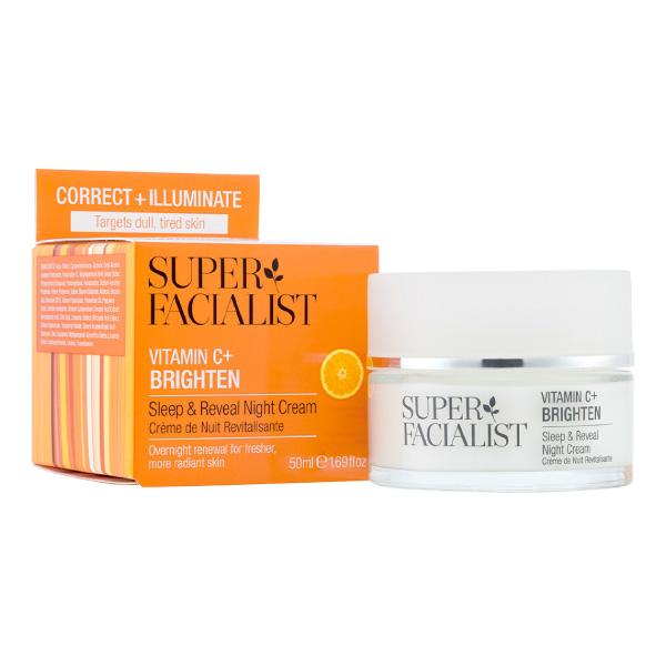 Superfacialist Vitamin C Sleep & Reveal Night Cream 50ml